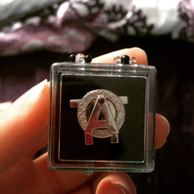 My badge is one of my favourite possessions because it symbolizes so much.