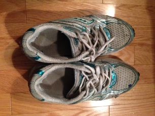 My shoes for the Army Run on Sept. 20, 2015.