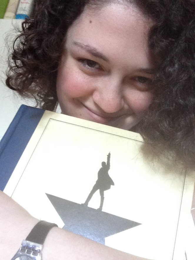 The arrival of my 'Hamilton' book today was fortuitous given the amazing honour the musical received overnight. Can you tell how happy I am?