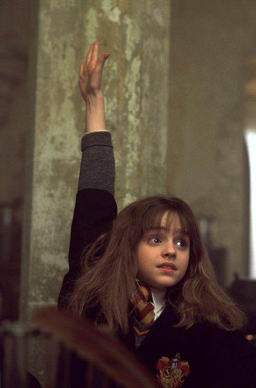 Hermione Hand Up